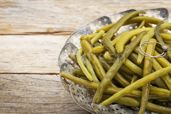 緑 フランス語 豆 調理済みの バター ストックフォト © PixelsAway