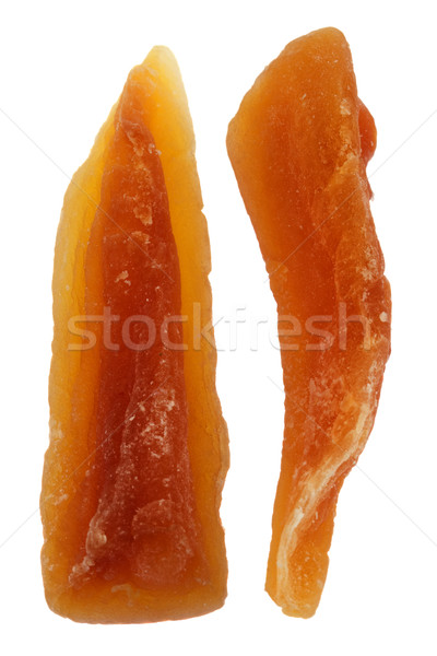 spears of dried papaya Stock photo © PixelsAway