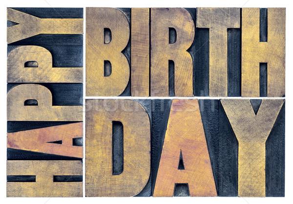 happy birthday greetings card Stock photo © PixelsAway