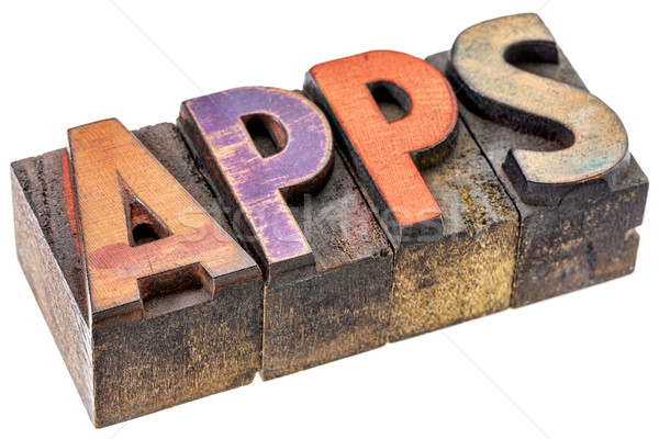 apps - software for mobile devices Stock photo © PixelsAway
