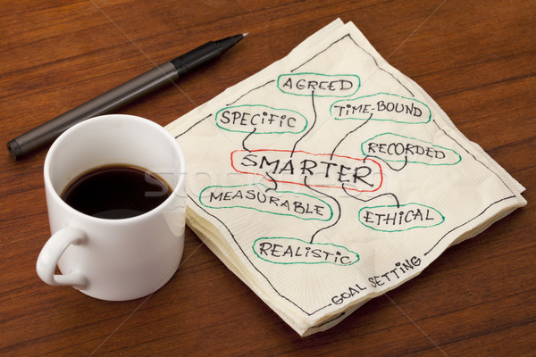 smarter goal setting Stock photo © PixelsAway