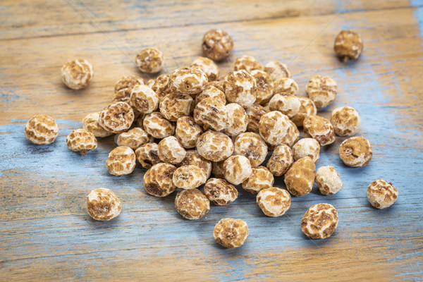 Stock photo: organic peeled tiger nuts