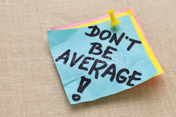 しない 平均 モチベーション やる気を起こさせる 手書き 青 ストックフォト © PixelsAway