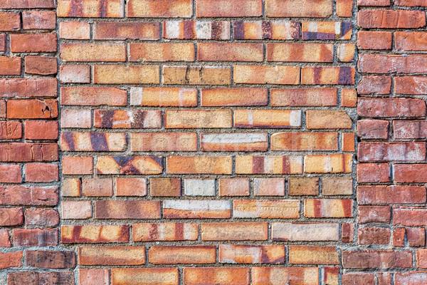 Vecchio muro di mattoni texture finestra coperto diverso Foto d'archivio © PixelsAway