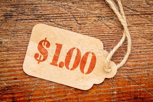 one dollar price tag Stock photo © PixelsAway