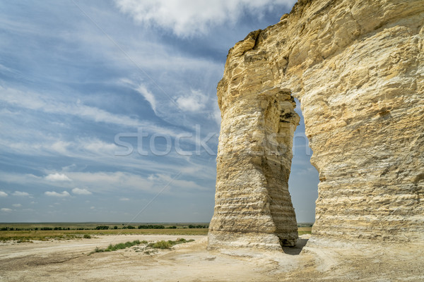 Monument Rocks National Natural Landmark Stock photo © PixelsAway