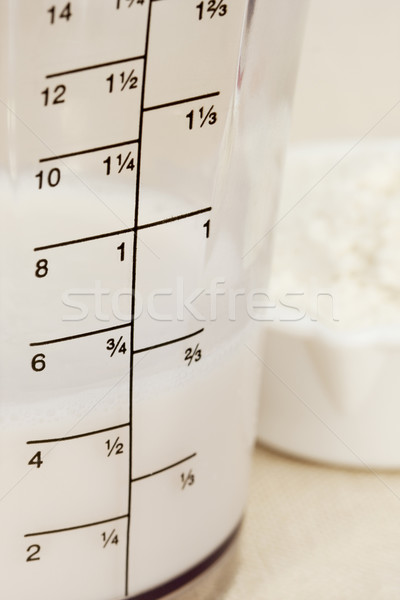 almond milk in blender beaker Stock photo © PixelsAway