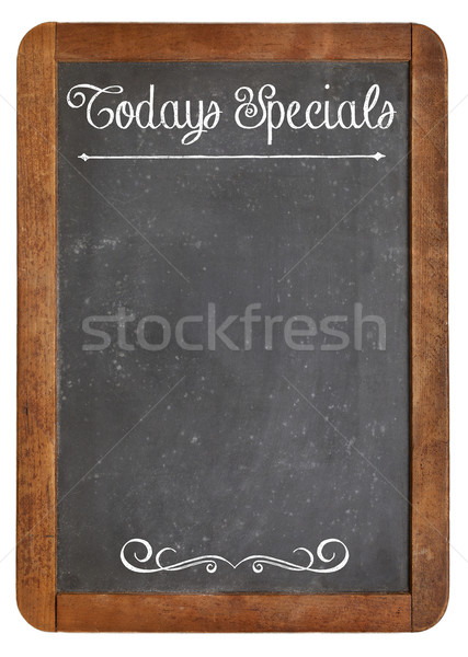Today Specials on blackboard Stock photo © PixelsAway
