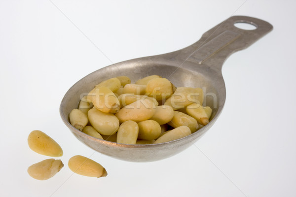 Tablespoon of pine nuts Stock photo © PixelsAway