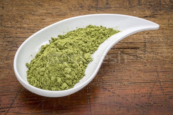 moringa leaf powder Stock photo © PixelsAway