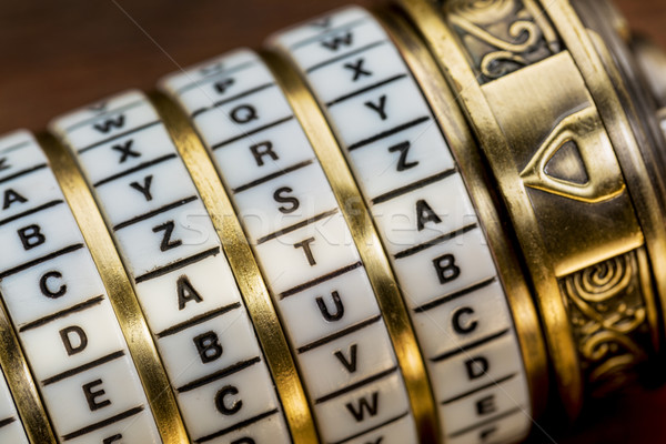 данные слово пароль комбинация головоломки окна Сток-фото © PixelsAway