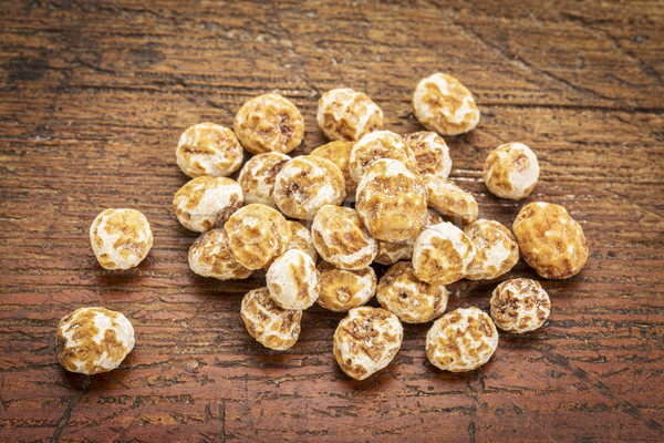 organic peeled tiger nuts Stock photo © PixelsAway