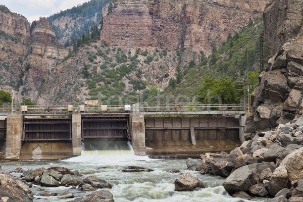 Shoshonee Dam on Colorado RIver Stock photo © PixelsAway