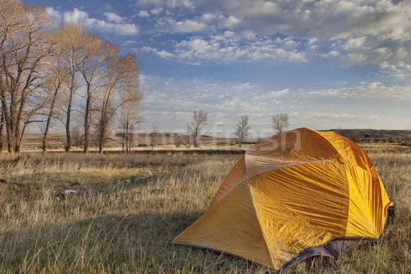 early spring camping in Wyoming Stock photo © PixelsAway