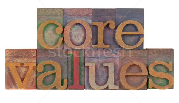 core values Stock photo © PixelsAway