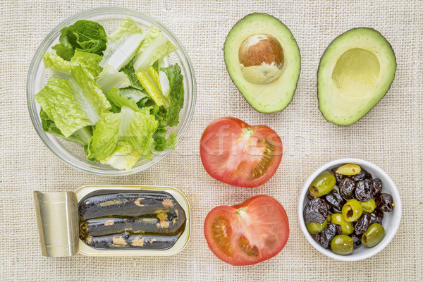 sardine salad ingredients Stock photo © PixelsAway