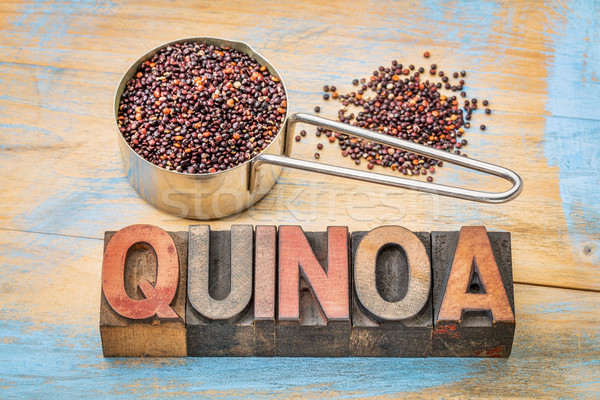 gluten free qunoa grain Stock photo © PixelsAway