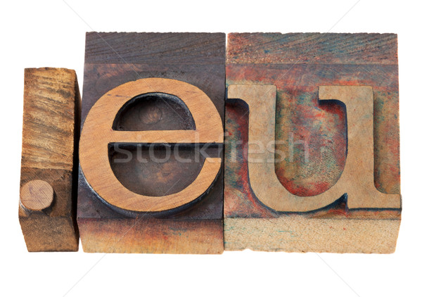 internet domain for European Union  Stock photo © PixelsAway