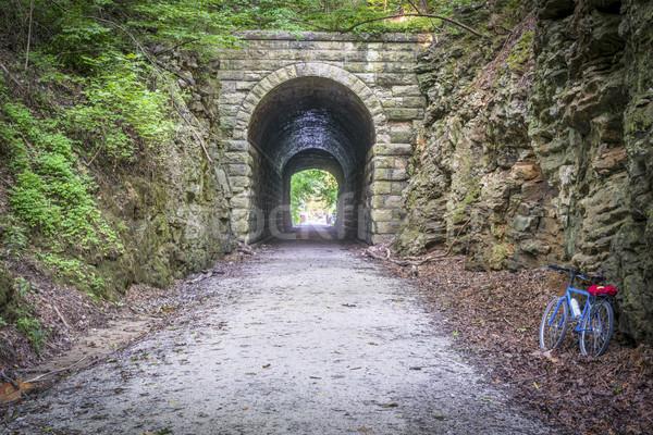Szlak tunelu rowerów Missouri starych Zdjęcia stock © PixelsAway