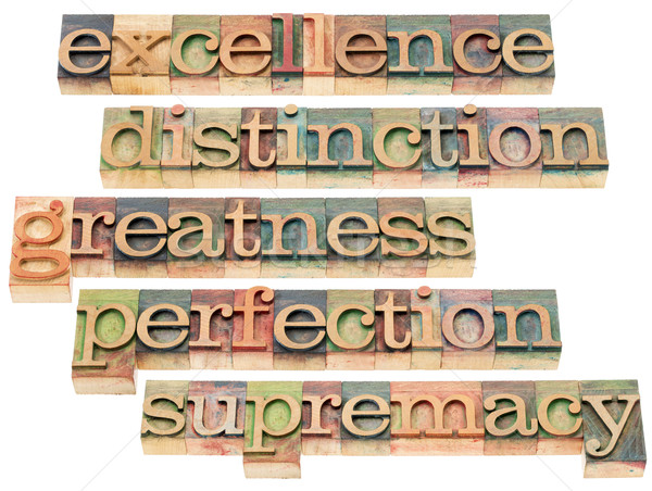 excellence, greatness and perfection Stock photo © PixelsAway