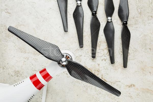 carbon fiber drone propellers Stock photo © PixelsAway