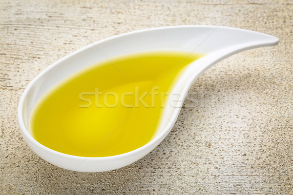olive oil in small side dish bowl Stock photo © PixelsAway