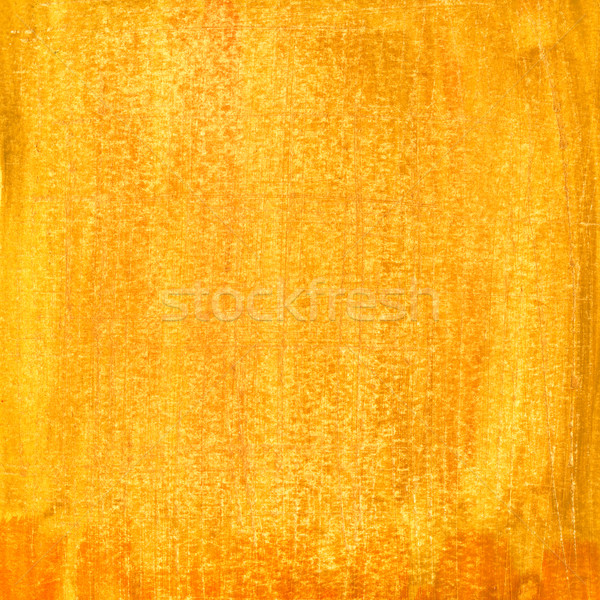 grunge yellow and orange painted paper texture Stock photo © PixelsAway