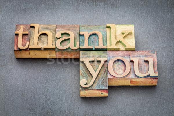 ありがとう フレーズ 木材 タイプ ヴィンテージ ストックフォト © PixelsAway