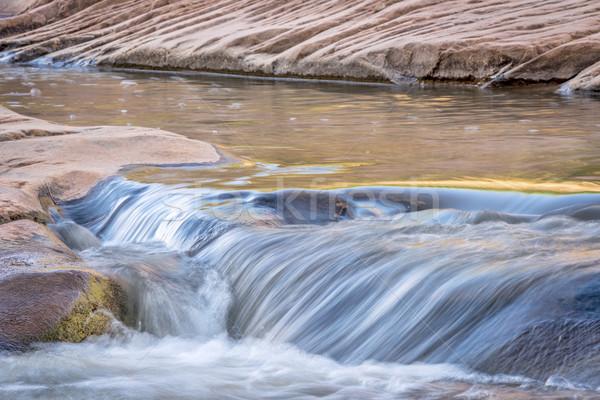 Pequeño arroyo arenisca molino agua Foto stock © PixelsAway