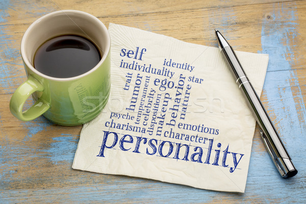personality and character word cloud Stock photo © PixelsAway