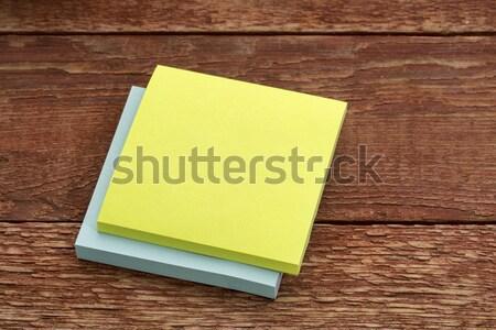 付箋 木材 素朴な 納屋 ビジネス ストックフォト © PixelsAway
