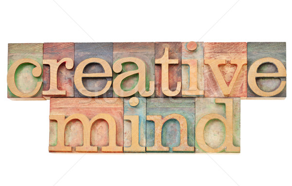 Stock photo: creative mind