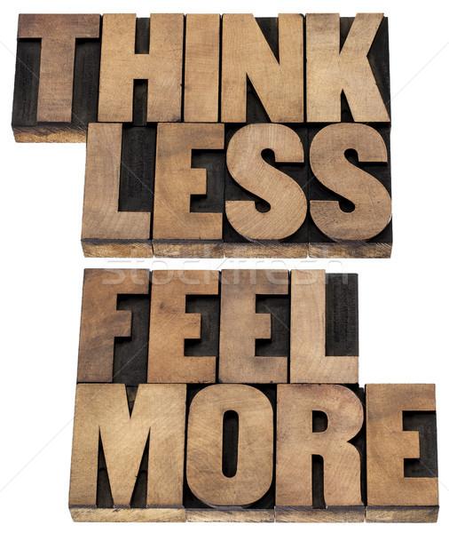 と思います レス もっと 単語 知恵 孤立した ストックフォト © PixelsAway