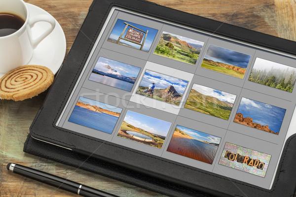 Colorado fotos digital comprimido imagem biblioteca Foto stock © PixelsAway