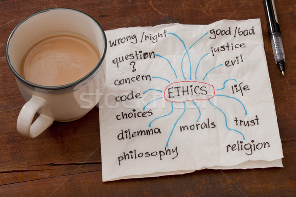 ethics related topics Stock photo © PixelsAway