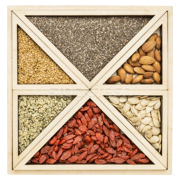 superfood tray abstract Stock photo © PixelsAway