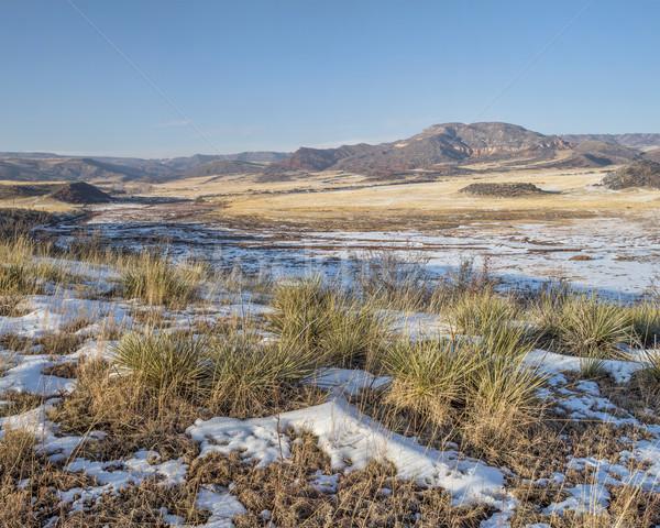 mountain ranch at Colorado foothills Stock photo © PixelsAway