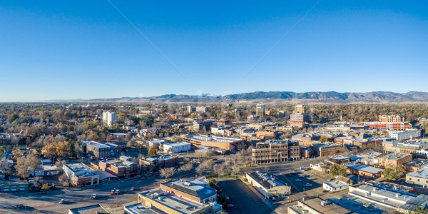 Fort Collins cityscape panorama Stock photo © PixelsAway