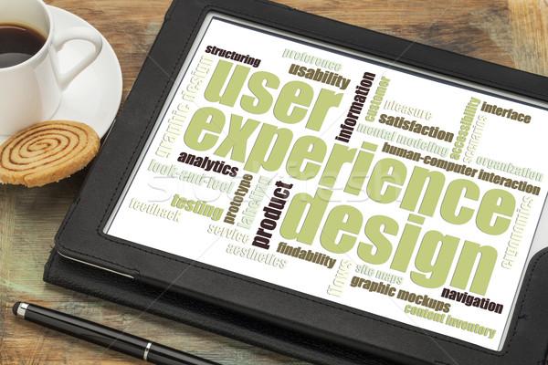 user experience design concept Stock photo © PixelsAway