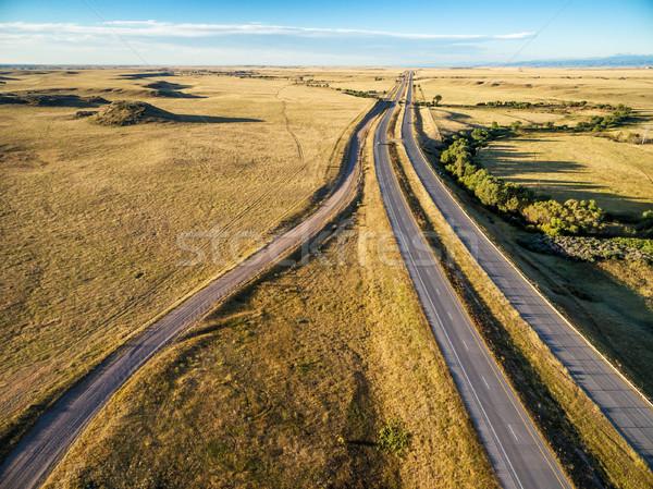 高速道路 コロラド州 草原 北方 道路 ストックフォト © PixelsAway