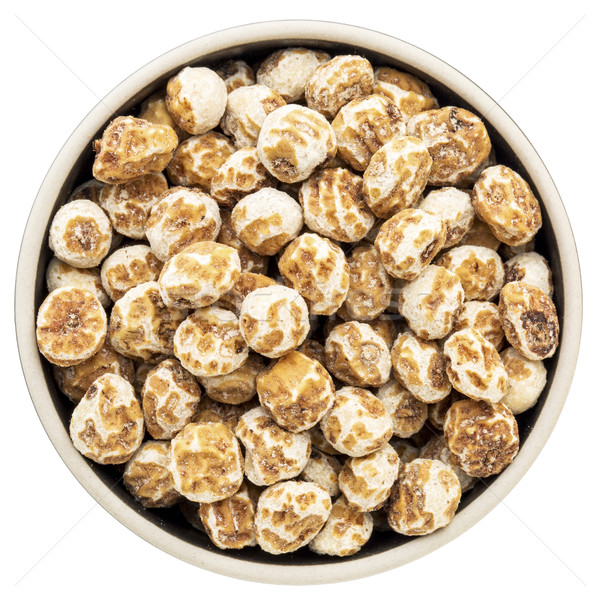organic peeled tiger nuts Stock photo © PixelsAway