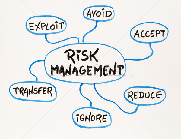 risk  management mind map sketch Stock photo © PixelsAway