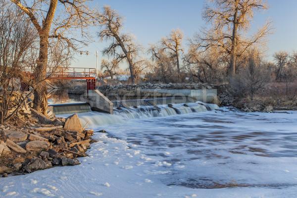 river dam Stock photo © PixelsAway