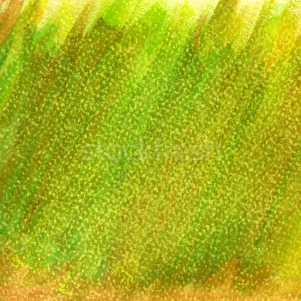 green and yellow patchy grunge painted and scratched abstract ba Stock photo © PixelsAway
