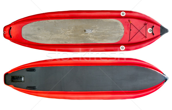 whitewater inflatable stand up paddleboard Stock photo © PixelsAway
