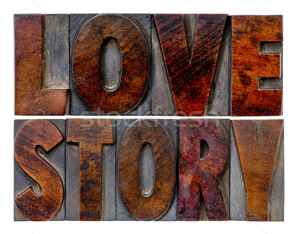 love story word abstract Stock photo © PixelsAway