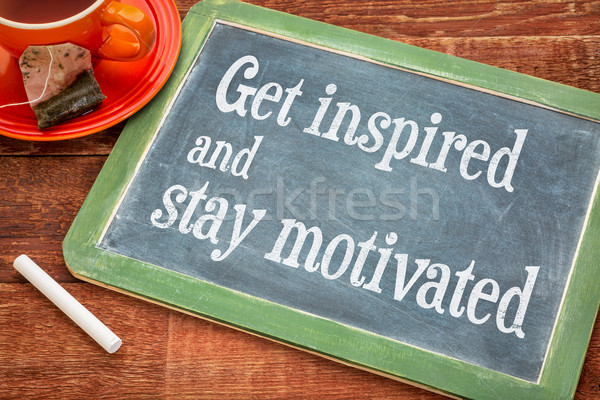 get inspired and stay motivated Stock photo © PixelsAway