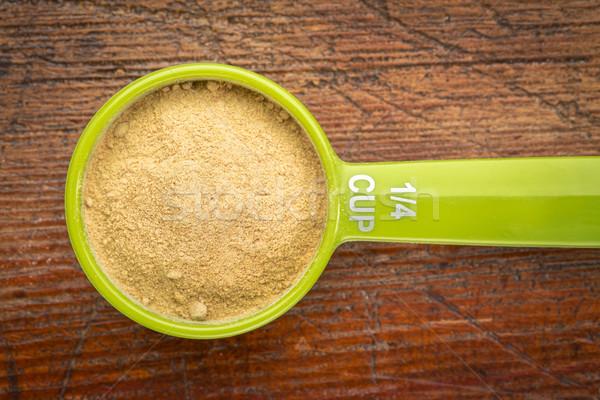 scoop maca root powder Stock photo © PixelsAway