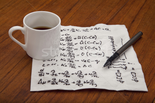 mathematical equations of physics Stock photo © PixelsAway