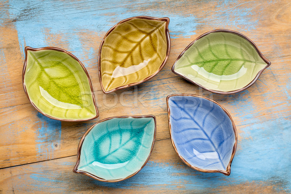 empty ceramic side dish bowls Stock photo © PixelsAway